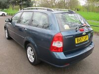 2007 57 CHEVROLET LACETTI 1.6 SX ESTATE LOW 57K CAMBELTED 2 FORMER KEEPERS SUPER DRIVE PX SWAPS