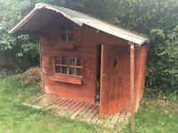 Lovely shed / play house for free- in need of touch ups