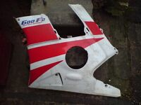 HONDA CBR 600 CBR600 FM-FR 1990-1994 LEFT HAND FAIRING LOWER