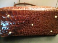 Beautiful Italian Leather Handbag - RRP £315. Brand New Unwanted Gift.