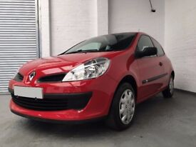 2008 RENAULT CLIO 1.2 FREEWAY 3dr *** FULL YEARS MOT ***