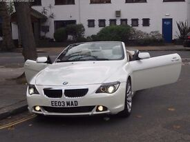 2006 BMW 6 Series M Sport 3.0 Convertible 280bhp