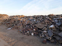 Bricks and concrete removal and recycling