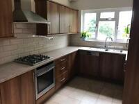 Walnut Style Kitchen with appliances