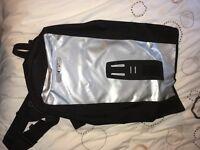 Ortelib Messenger Bag black/grey - Great backpack for the rain!!
