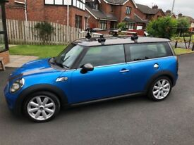 Mini Clubman Cooper S (not Audi A3, VW Golf, Alfa, Honda Civic)