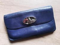 Mulberry long locked purse/wallet, grape (purple)