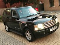 2005 LAND ROVER RANGE ROVER VOGUE 2.9 TD6 STATIONWAGON 4X4 4WD DIESEL AUTOMATIC TOWBAR N DISCOVERY