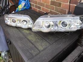 BMW X5 2001 angel headlamps halogen