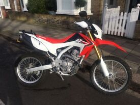 HONDA CRF250L - economical, lightweight commuter & trail bike with essential extras