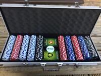 Pro Poker professional 500 poker chip set