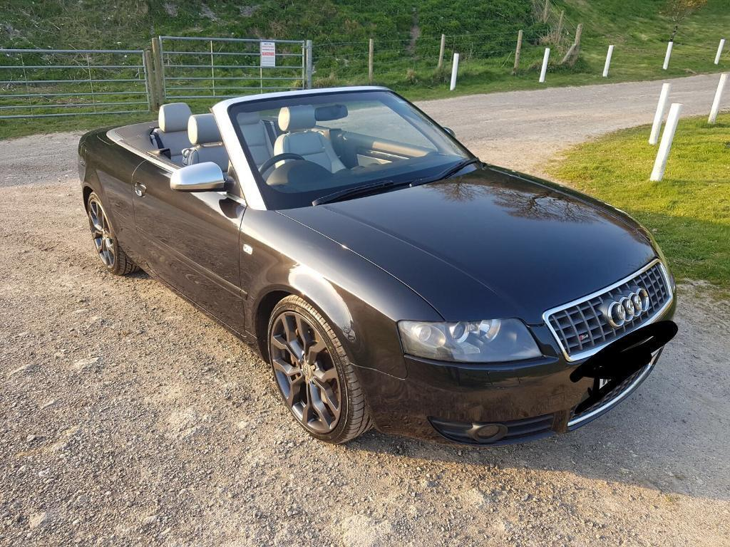 2004 audi s4 4 2 v8 cabriolet black vgc in southwick east sussex gumtree. Black Bedroom Furniture Sets. Home Design Ideas