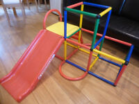 RARE Indoor Outdoor Slide Climbing Activity Play Toy Gym Kids