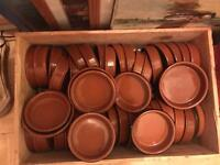 Job Lot of clay bowls