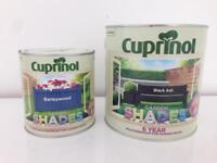 Cuprinol Shades Garden Paints - Brand New Unused