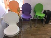 Job lot 19 chairs coffee shop cafe