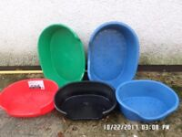 Plastic pet beds,, in good condition £5 each,calls only,,,,,,no texts plz