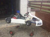 Honda pro kart twin engine