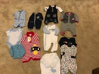 Boys clothes newborn/0-3 months