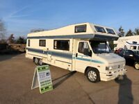 classic motorhome talbot autotrial seminole special,6 wheeler tag axle,only 48k great project