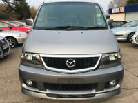 Mazda Bongo Friendee 2.0 Petrol Automatic Dayvan/Camper 8 Seater 2007 146,000 Miles
