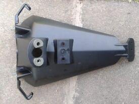 Kawasaki zx6r rear mudguard fender