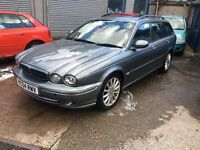 Jaguar X-type Diesel 2004 Breaking For Spares Leather Interior Good Condition