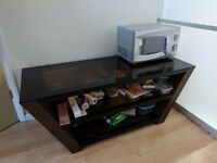 Durable TV Glass Stand (Very thick Glass Top)