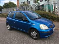 TOYOTA YARIS 1.0 IDEAL FIRST CAR CHEAP INSURANCE LONG MOT