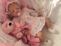 Sweet Sleeping Reborn Baby Girl Doll
