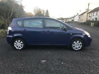 Toyota verso 1.8 petrol * 7 SEATER*