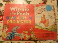 Vintage Disney Winnie the Pooh Give a Show Projector