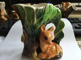 HORNSEA FAUNA COLLECTABLE - FAWN UNDER TREE - No. 58