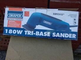 Draper electric tri base sander