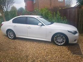 White 2008 BMW 520D M-Sport Low mileage