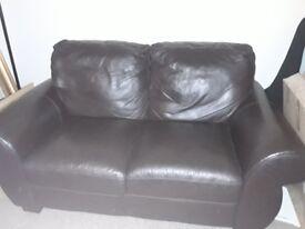 Leather sofa **** price drop * *