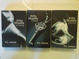 Fifty Shades of Grey Trilogy Book Set Perfect condition (rrp £20)
