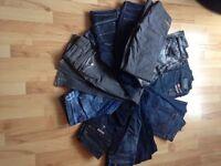 Fantastic bundle of Designer Jeans over £1000 when bought