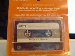 60- MIN. SANYO TELEPHONE ANSWERING MACHINE INCOMING MESSAGE TAPE Windsor Region Ontario image 4