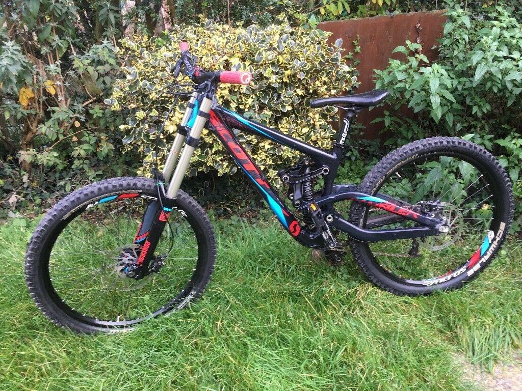 Scott Gambler 30 2014 Downhill Mountain Bike Size M MTB £ ...
