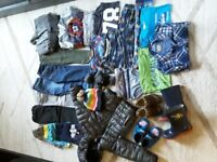 Over 40 items large bundle of boys clothes 3-4 years