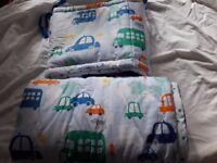 John Lewis Cot Bedding - as new