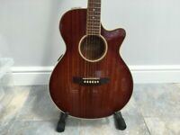 Jasmine by Takamine TS99C 1993 Walnut Burst Vintage Acoustic / Electric
