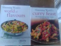 2 Hardback Slimming World Books