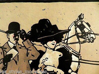 Ludwig HOHLWEIN Druck ° Offset-Lithographie ° Werbung ° Plakat Turf ° Bl.2