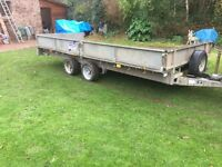 For Williams Twin Axle Trailer LM166G 16' x 6'6 3500kg