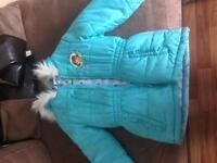 Girls Dora winter coat