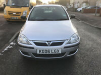 2006 VAUXHALL CORSA 1.0 NEW MOT 5 DOORS/vw golf/ford focus/audi a3/renualt clio/toyota yaris