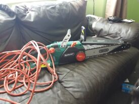 Qualcast electric chainsaw