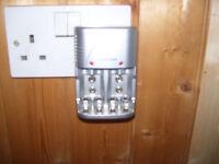 Lloytron plug-in mains battery charger - AA & AAA